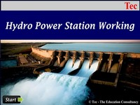 Hydro Power Station Working