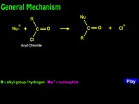 Nucleophilic acyl Substitution & General Mechanism Example