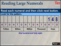 Reading Large Numerals New