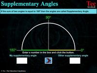 Supplementary Angles New IV
