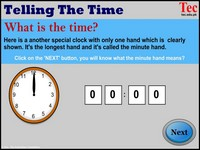 Time Clock Telling the clock